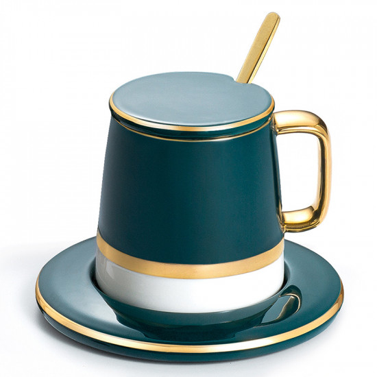 Retro Coffee Cup Set