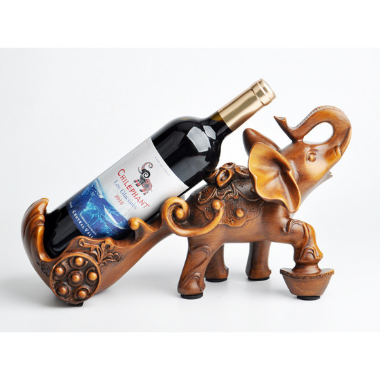 Wine Rack Elephant